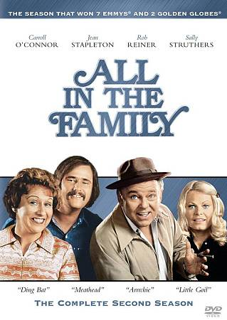 ALL IN THE FAMILY:COMPLETE 2ND SEASON BY ALL IN THE FAMILY (DVD)